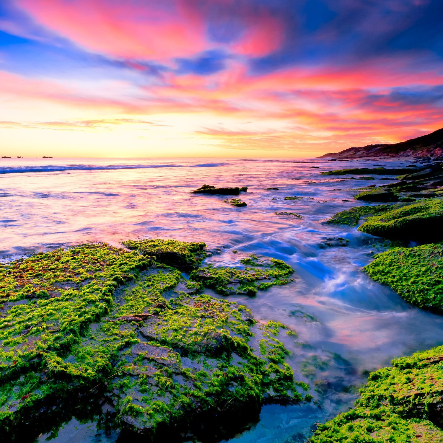 Amazing-Greens_Sunset_Burns-Beach_Perth_WA_Colour