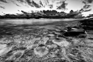 Approaching-Storm_Burns-Beach_Perth_WA_Black and White