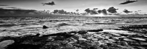 Average-Afternoon_Sunset_Burns-Beach_Perth_WA_Black and White