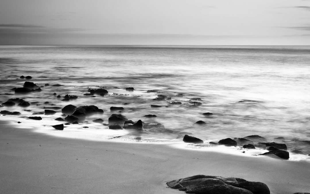 Change-in-Weather_Castle-Rock-Bay_Dunsborough_South-West_WA_Black and White
