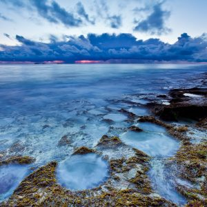 Circles_Storm_Sunset_Burns-Beach_Perth_WA_Colour