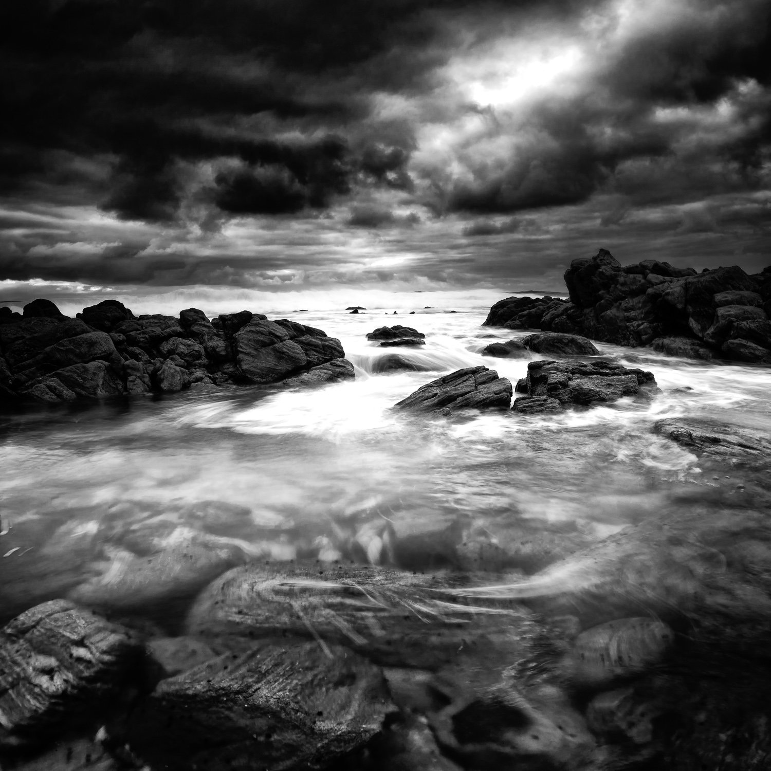 Elements_Cape-Naturaliste_South-West_WA_Black and White