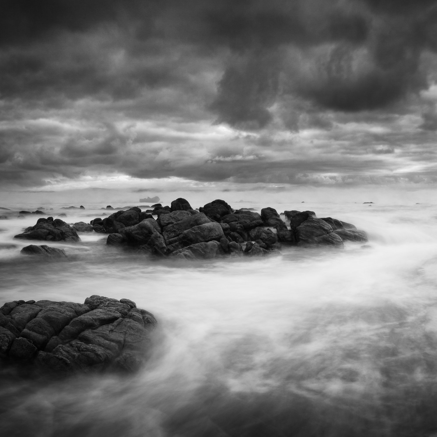 High-Seas_Cape-Naturaliste_South-West_WA_Black and White
