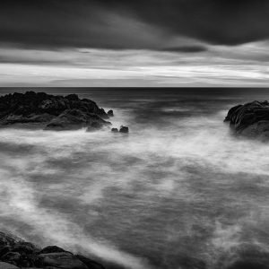 Last-Rays_Canal-Rocks_Smiths-Beach_Yallingup_South-West_WA_Black and White