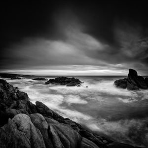 Late-Storm_Canal-Rocks_Smiths-Beach_Yallingup_South-West_WA_Black and White