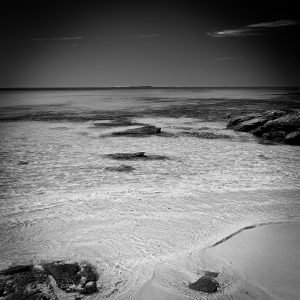 Ocean-Views_Rosemary-Island_Dampier-Archipelago_Pilbara_North-West_WA_Black and White