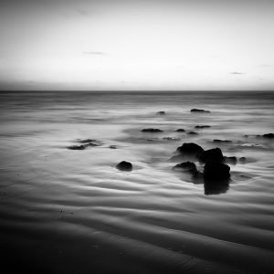 Rocks-and-Ripples_Cable-Beach_Broome_Kimberleys_North-West_WA_Black and White