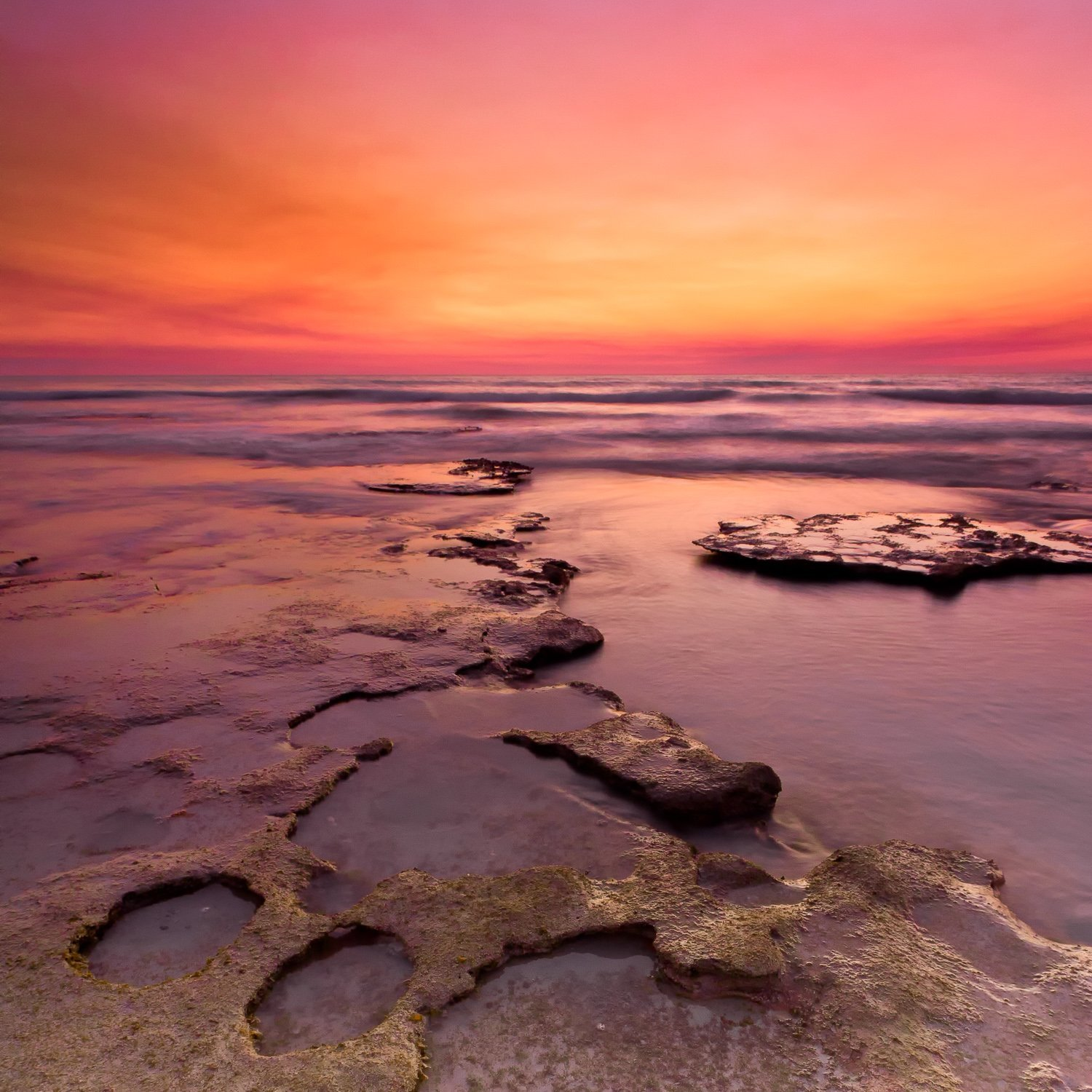 Rocky-Flats_Sunset_Cable-Beach_Broome_Kimberleys_North-West_WA_Colour