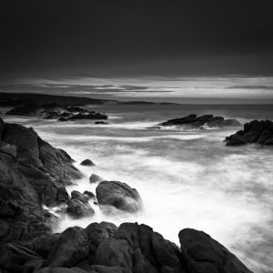 Rugged-Beauty-Canal-Rocks_Smiths-Beach_Yallingup_South-West_WA_Black and White