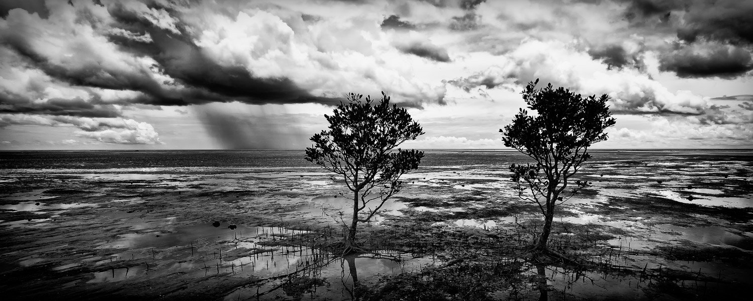 Thunder-Storm_Daly-River_Darwin_Northern-Territory_Black and White