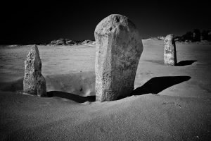Tombstones_Pinnacles_Nambung-National-Park_Cervantes_Perth_Central-West_WA_Black and White