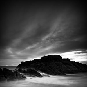 Windswept_Canal-Rocks_Smiths-Beach_Yallingup_South-West_WA_Black and White