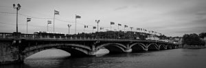 Adour_River_Bridge_Bayonne_Basque_Country_Aquitaine_SW_France_Black_and_White