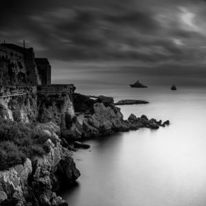 Dark_Light_Antibes_French_Riviera_Provence_Alpes_Côte-dAzur_South_France_Black_and_White
