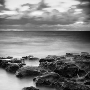 Doubting_Mind_Jindalee_Beach_Jindalee_Perth_Western_Australia_Black_and_White