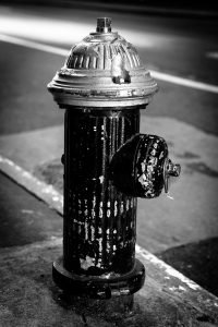 Fire_Hydrant_Manhattan_New_York_USA_Black_and_White
