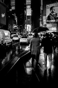 Flow_Times_Square_Manhattan_New_York_USA_Black_and_White