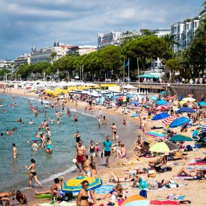 French_Bathers_Cannes_French_Riviera_Provence_Alpes_Cote_dAzur_South_France_Colour