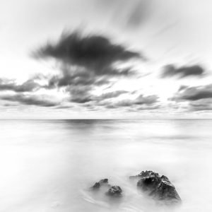 High_Key_Jindalee_Beach_Jindalee_Perth_Western_Australia_Black_and_White