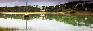 Hossegor_Reflections_Lake_Hossegor_Aquitaine_Landes_SW_France_Colour