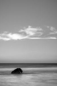 Lonely_Moses_Rock_Wilyabrup_South_West_Western_Australia_Black_and_White