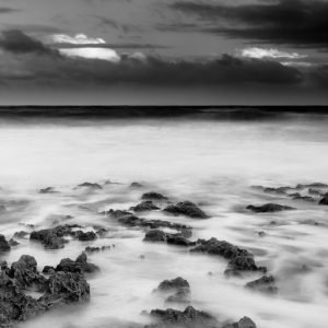 Low_Tide_Sunrise_North_Beach_Perth_Western_Australia_Black_and_White