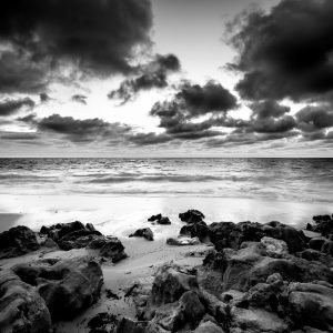 Melancholy_Jindalee_Beach_Jindalee_Perth_Western_Australia_Black_and_White