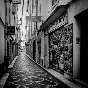 Memories_Antibes_French_Riviera_Provence_Alpes_Côte-dAzur_South_France_Black_and_White