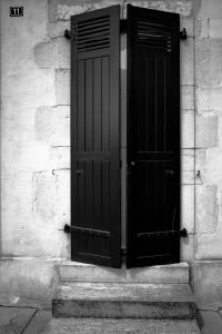 Number_11_Bayonne_Basque_Country_Aquitaine_SW_France_Black_and_White