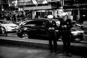 Quick_Text_Times_Square_Manhattan_New_York_USA_Black_and_White