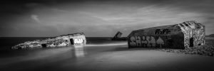Slipping_Away_Capbreton_Hossegor_Aquitaine_Landes_SW_France_Black_and_White