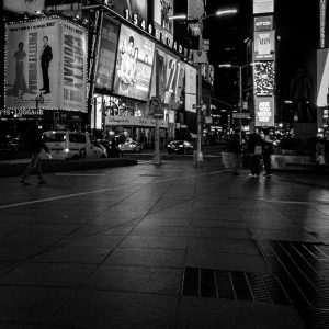 Times_Square_2_Noah_Manhattan_New_York_USA_Black_and_White