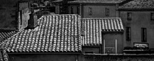 Within_the_Walls_Carcassonne_Languedoc_Occitanie_South_France_Black_and_White